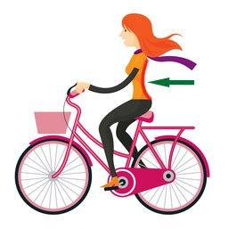 Lordoza lędźwiowa przy jeździe na rowerze