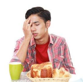 Ból głowy dieta