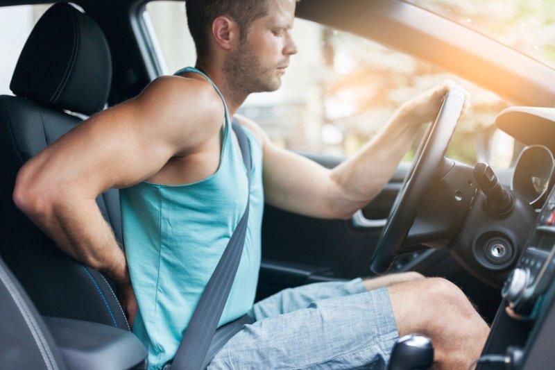 Ból pledców u kierowcy