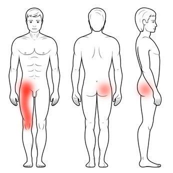 Zwyrodnienie stawu biodrowego i ból kolana
